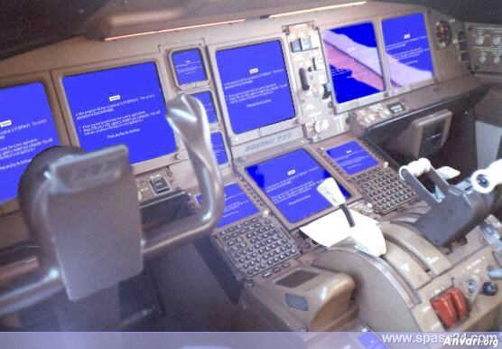 Lektuvo valdymas su Windows